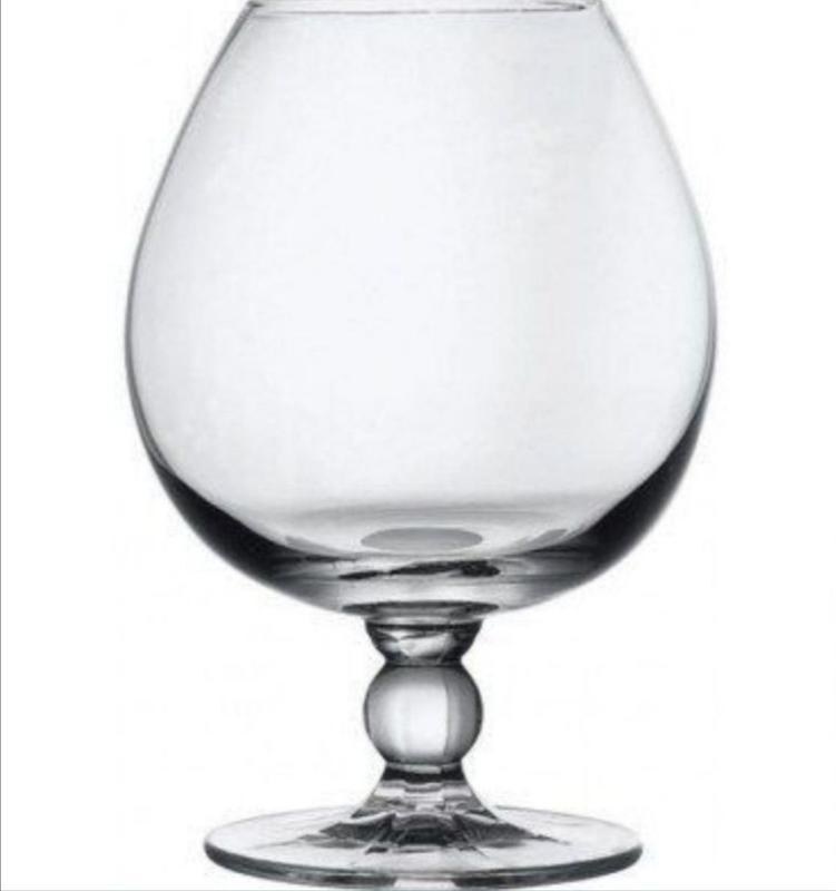 Набор стеклянных фужеров Pasabahce для коньяка, 535 мл 6 шт