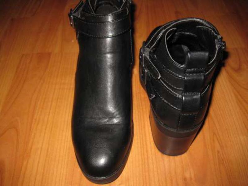 Зимние весенние ботинки на среднем каблуке atmosphere стелька ... - Фото 4