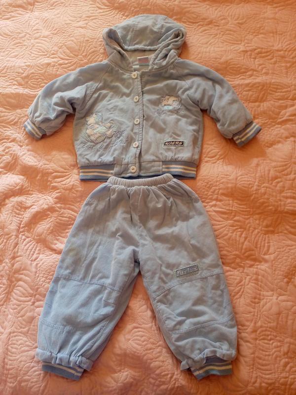 Костюм демисезонный Теплая куртка Теплые штаны