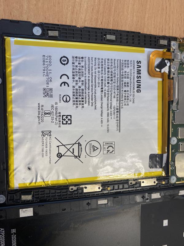 Планшет Samsung Galaxy 2/32GB LTE Black SM-T295NZKASEK (5016)