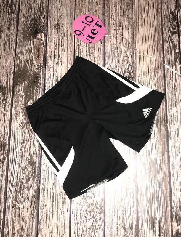 Фирменные шорты adidas для мальчика 9-10 лет, 134-140 см