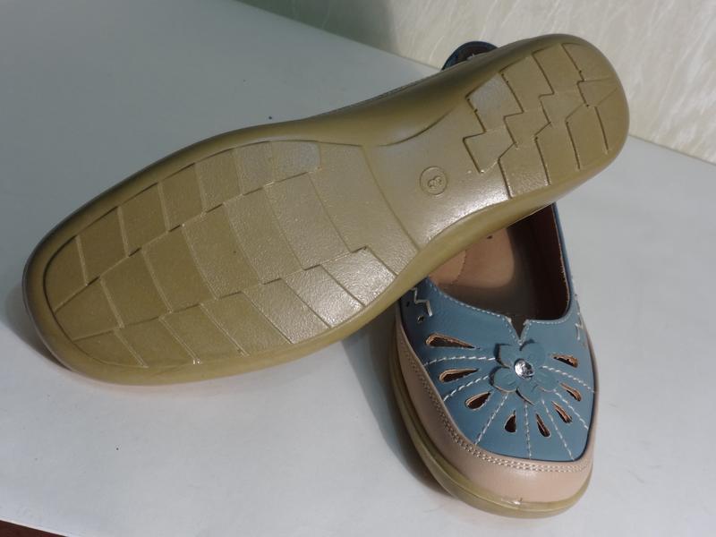 Легкие комфортные туфельки макасины , р.36-36,5_ - Фото 3
