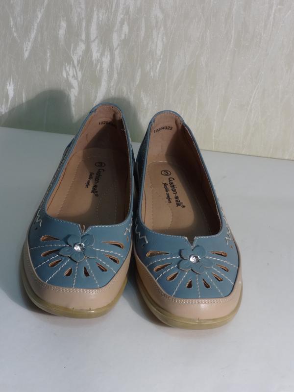 Легкие комфортные туфельки макасины , р.36-36,5_ - Фото 4