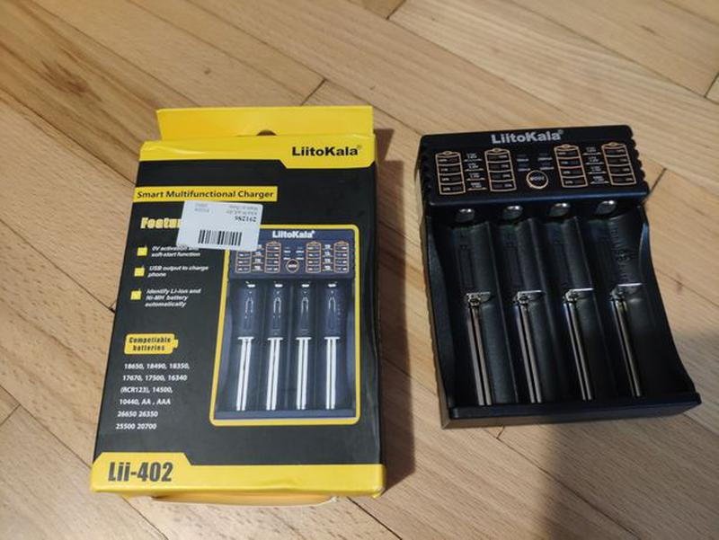 Зарядное устройство для аккумуляторов Liito-Kala Lii-402