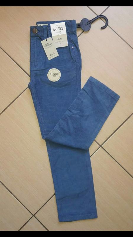 Вельветовые брюки штаны для мальчика primark 4-8 лет
