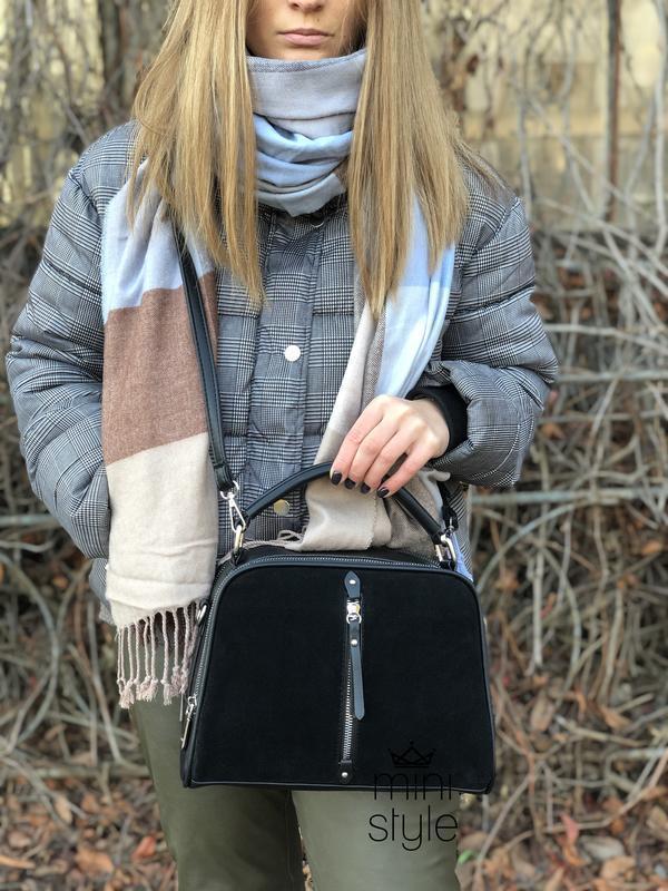 Сумка на длинной ручке cross-body сумочка трендовая и стильная...