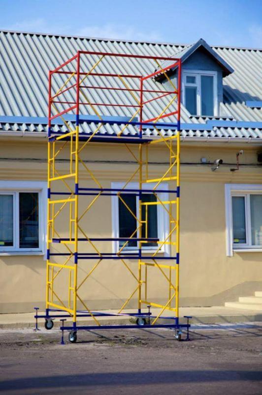 Вышка тура строительная габариты 2х2 м - Фото 2