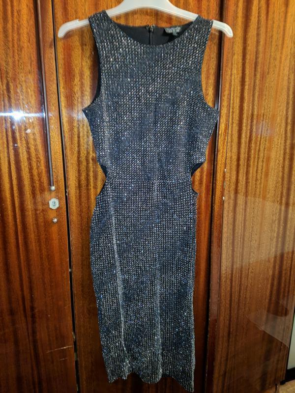 !продам женское облягающее платье сарафан  без рукавов topshop