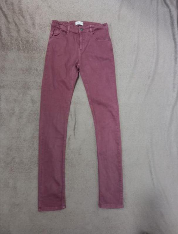 Брюки джинсы скинни узкачи стрейчевые на мальчика 13-14 лет
