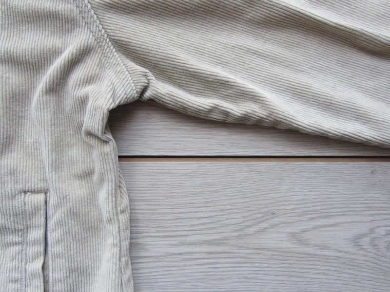 Акция! бежевая песочная куртка вельветовая джинсовка - Фото 5