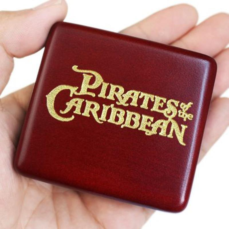 Заводная механическая музыкальная шкатулка Пираты Карибского моря - Фото 3