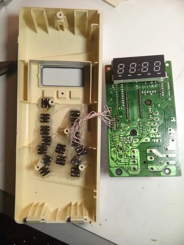Ремонт сенсорной панели в микроволновках - Фото 5