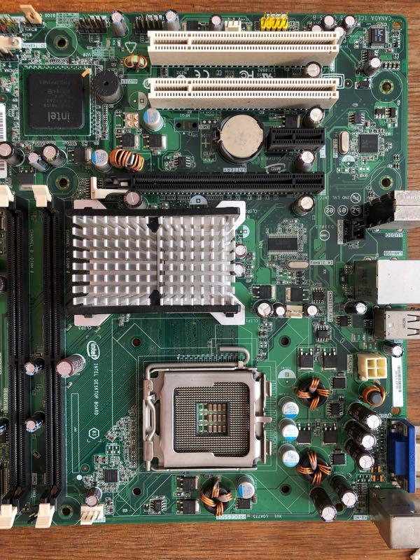 Intel Desktop Board DG31PR