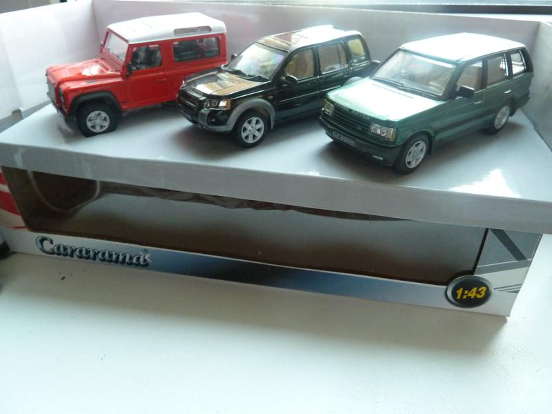 Cararama Land Rover набор Масштаб 1:43