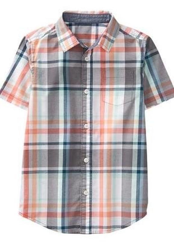 Рубашка gymboree мальчику 18-24 м - Фото 2