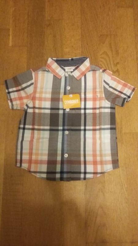 Рубашка gymboree мальчику 18-24 м