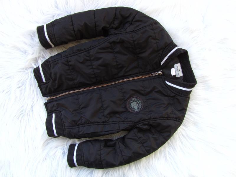 Стильная демисезонная куртка бомбер cyrillus