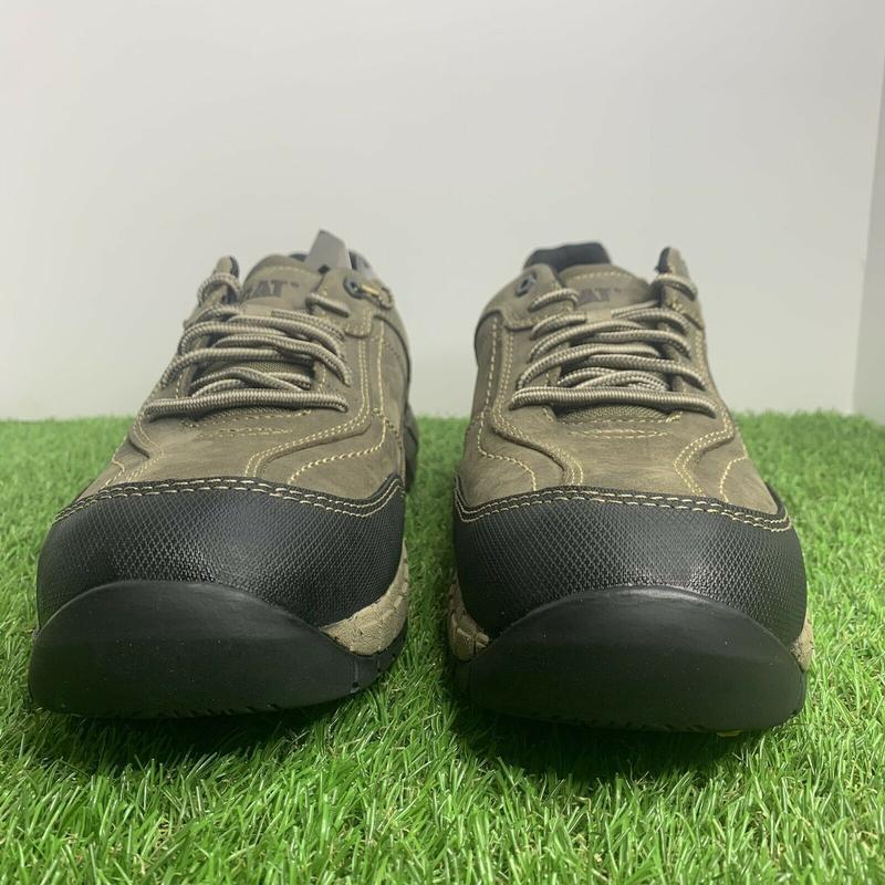 Ботинки  кроссовки  caterpillar streamline мужские кожаные ори... - Фото 2