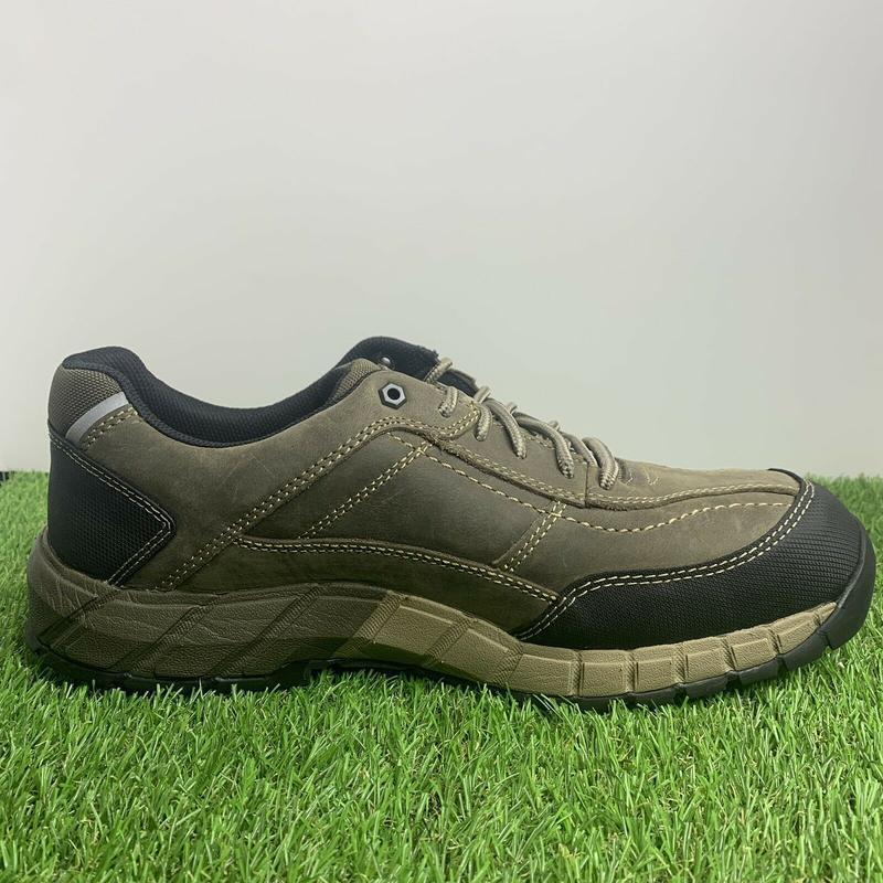 Ботинки  кроссовки  caterpillar streamline мужские кожаные ори... - Фото 3
