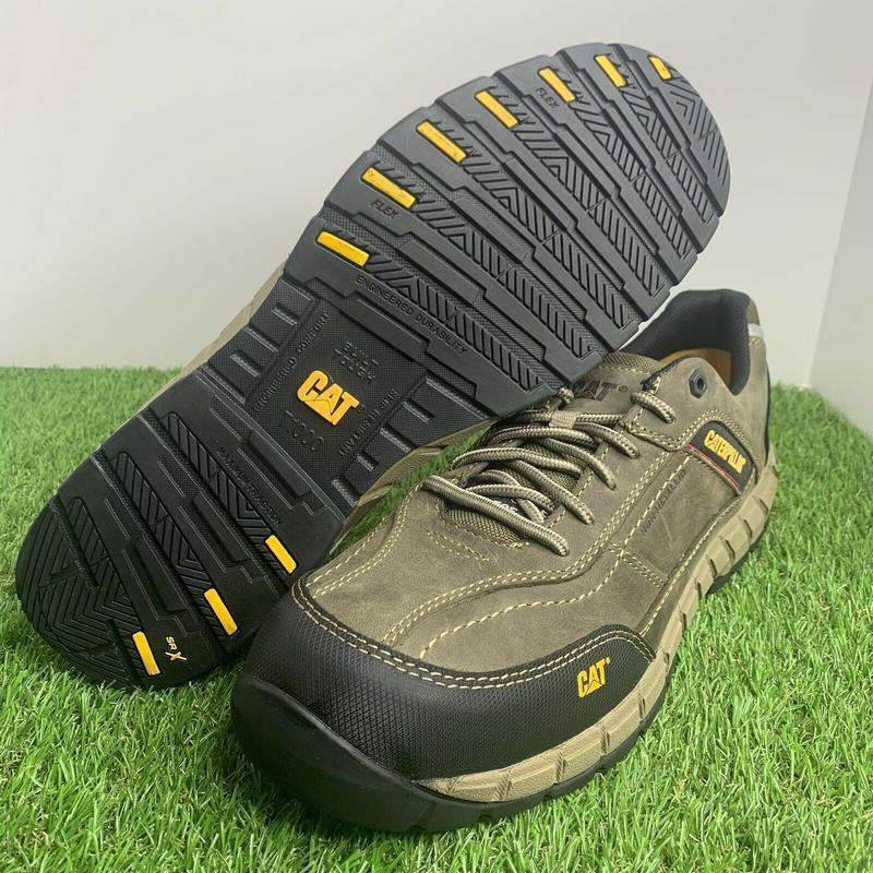 Ботинки  кроссовки  caterpillar streamline мужские кожаные ори... - Фото 6
