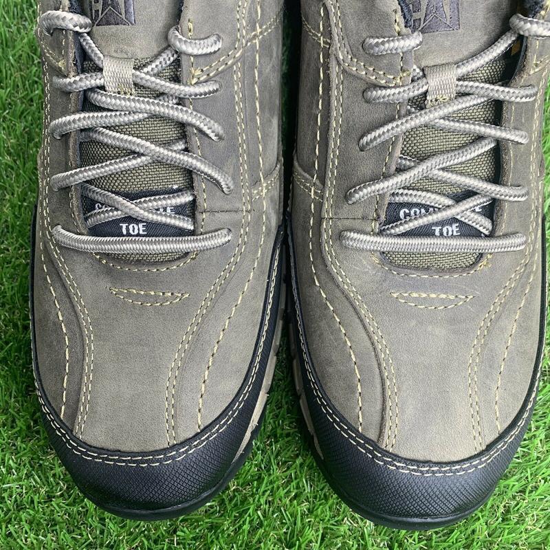 Ботинки  кроссовки  caterpillar streamline мужские кожаные ори... - Фото 8