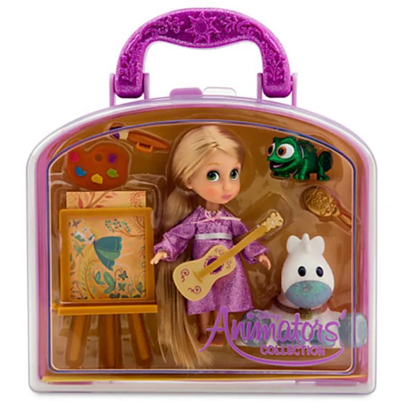 Кукла мини аниматор Рапунцель с набором игрушек - Фото 2