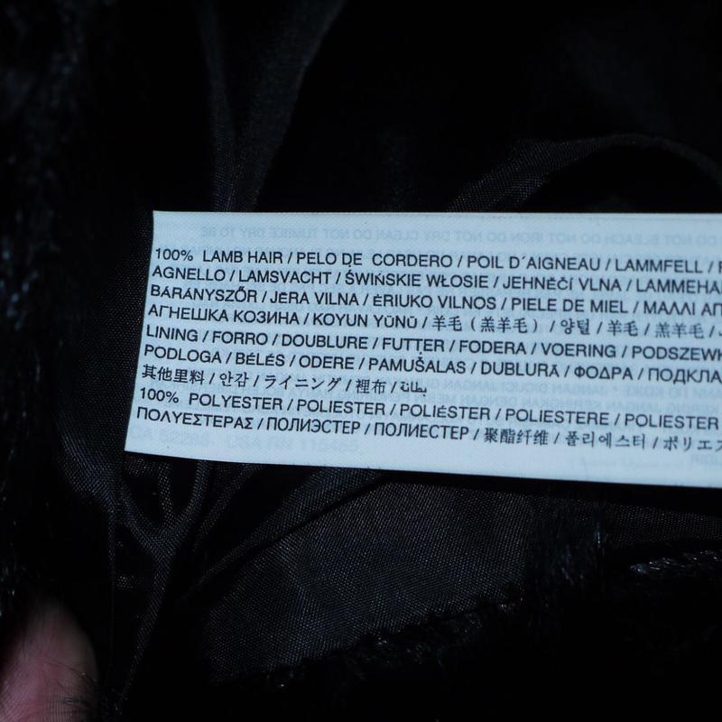 Шуба mango новая . натуральный мех ( козлик ) - Фото 3