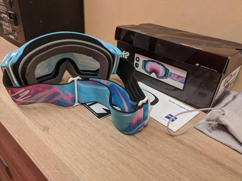 Лыжная маска K2 Captura Ski Goggles, Сферические линзы Zeiss - Фото 6