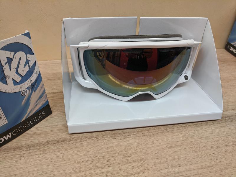 Лыжная маска K2 Captura Ski Goggles, Сферические линзы Zeiss - Фото 4