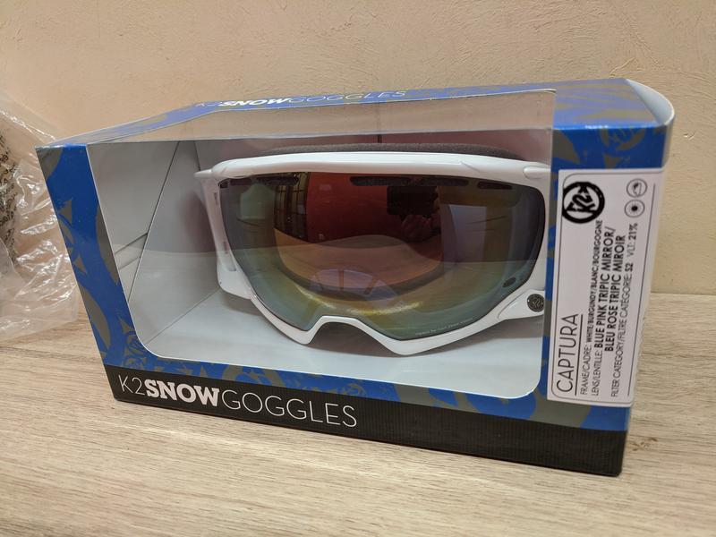 Лыжная маска K2 Captura Ski Goggles, Сферические линзы Zeiss - Фото 5