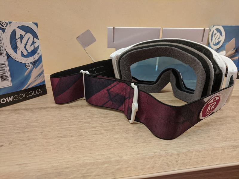 Лыжная маска K2 Captura Ski Goggles, Сферические линзы Zeiss - Фото 7