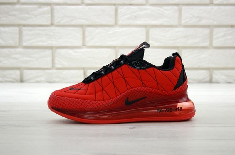 Nike air max 720-818 red, мужские демисезонные кроссовки найк ... - Фото 2