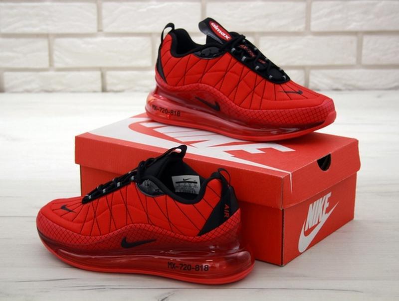 Nike air max 720-818 red, мужские демисезонные кроссовки найк ... - Фото 5