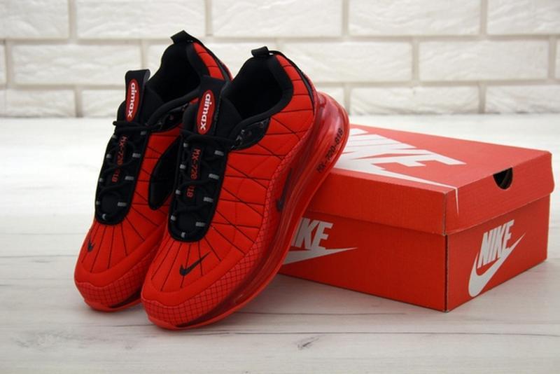 Nike air max 720-818 red, мужские демисезонные кроссовки найк ... - Фото 6