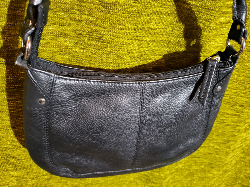 Сумка женская кожаная Mark's & Spencer (original) - Фото 3