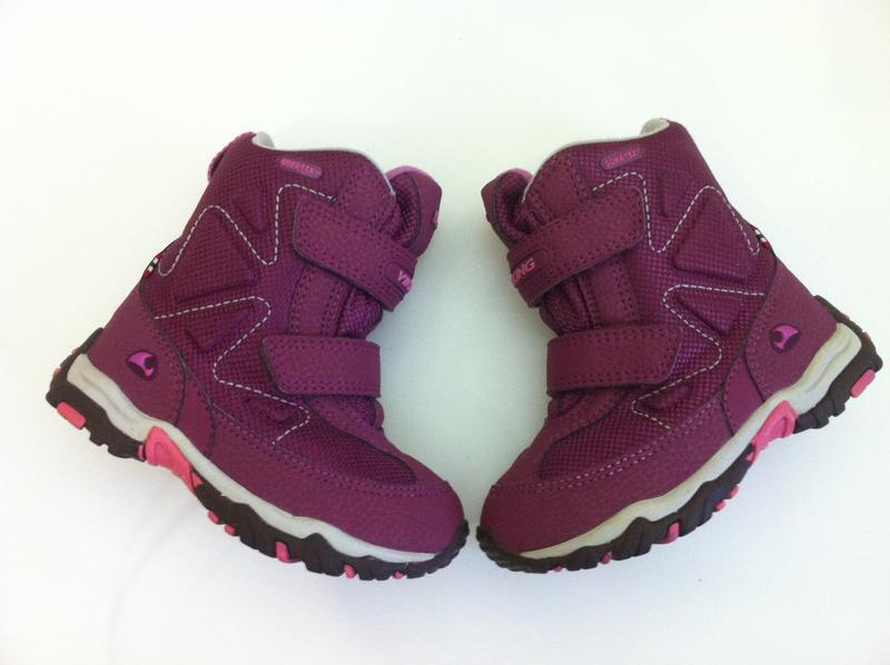 Зимние ❄️ сапоги ,ботинки viking ❄️с мембраной gore-tex р.25 -... - Фото 3