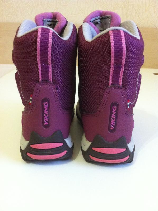 Зимние ❄️ сапоги ,ботинки viking ❄️с мембраной gore-tex р.25 -... - Фото 6
