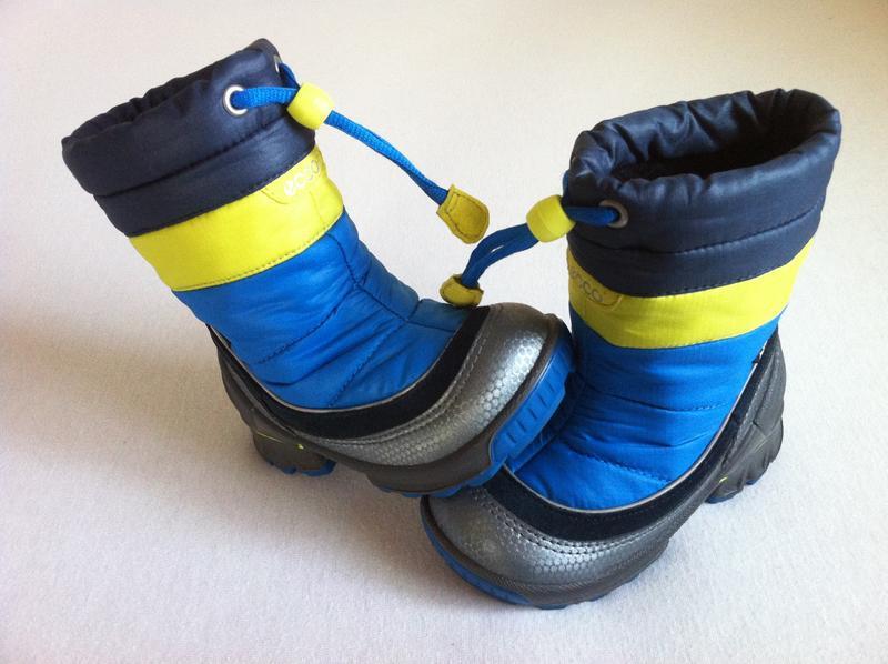Зимние ❄️ сапоги , ботинки ecco с мембраной gore-tex ❄️размер ... - Фото 3