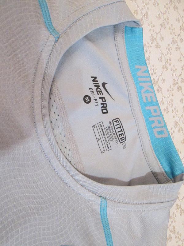 Футболка nike pro dri-fit размер м - Фото 3