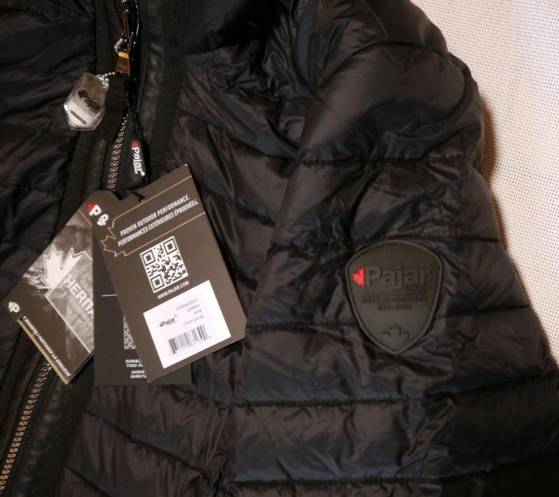 Женская куртка пуховик pajar zinnia парка пальто оригинал пролет - Фото 5