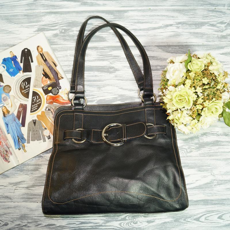 Furla. италия. кожа. брендовая сумка в классическом стиле