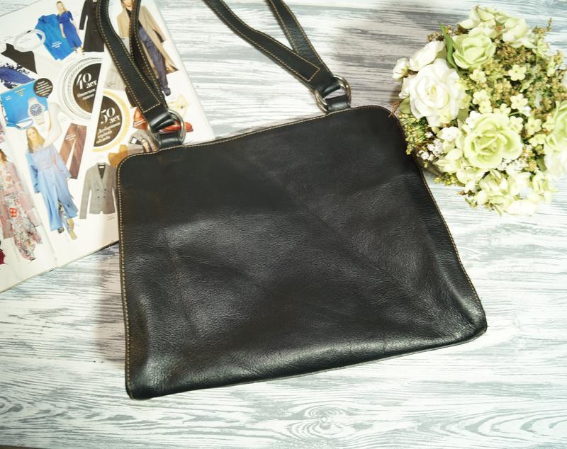 Furla. италия. кожа. брендовая сумка в классическом стиле - Фото 3