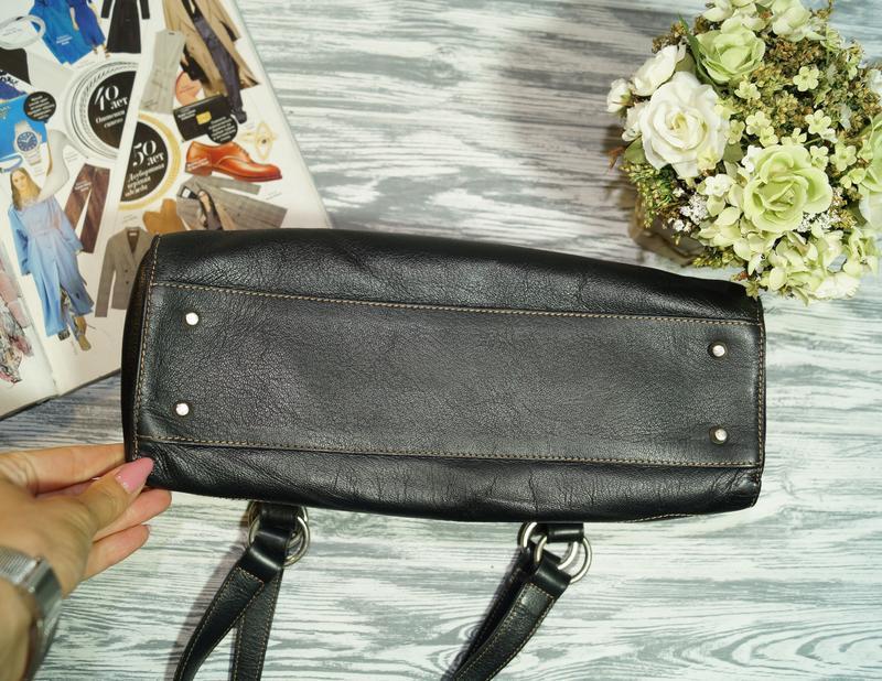 Furla. италия. кожа. брендовая сумка в классическом стиле - Фото 4