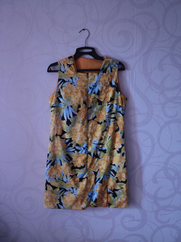 Платье-трансформер с тропическим принтом, платье с цветами, ле...