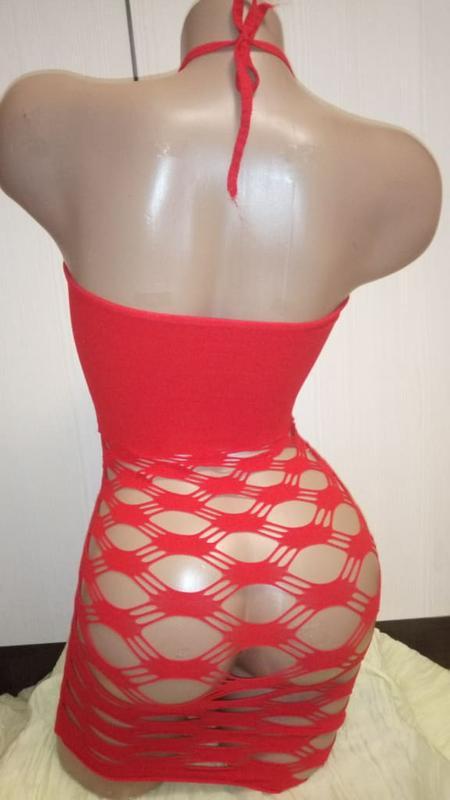 5-32 пеньюар сітка сексуальное белье пеньюар-сетка эротическое... - Фото 3