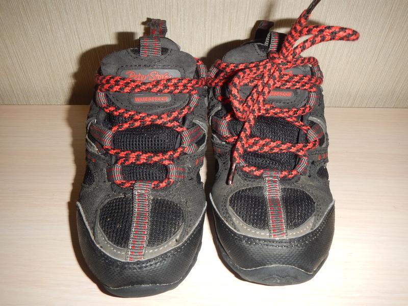 Кроссовки ботинки peter storm р.31(19см) трекинговые - Фото 2