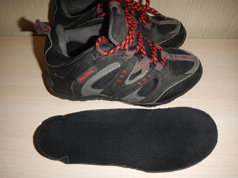 Кроссовки ботинки peter storm р.31(19см) трекинговые - Фото 4