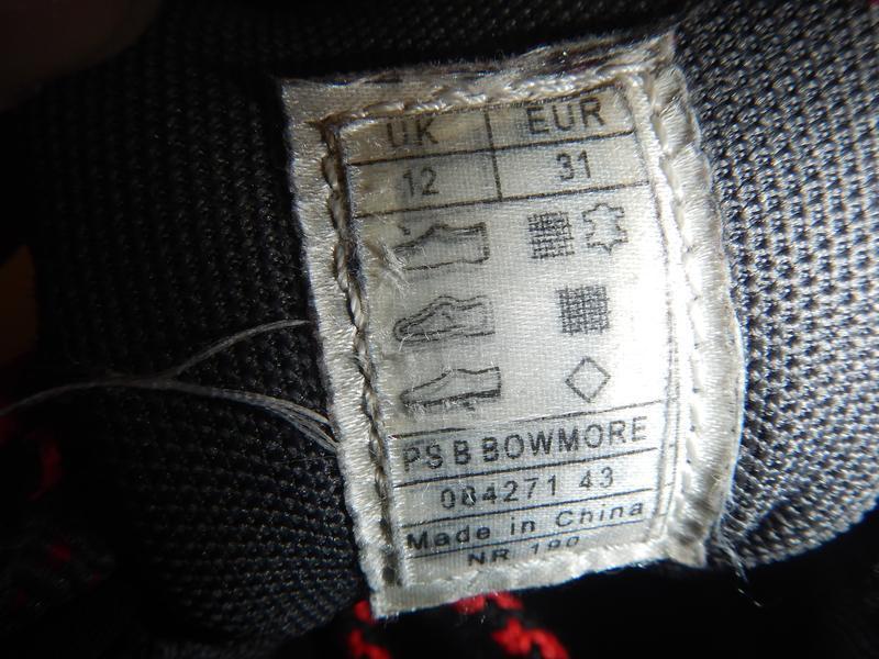 Кроссовки ботинки peter storm р.31(19см) трекинговые - Фото 6