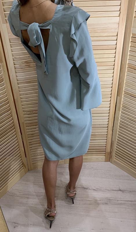 Легкое платье ментолового цвета nine - Фото 2