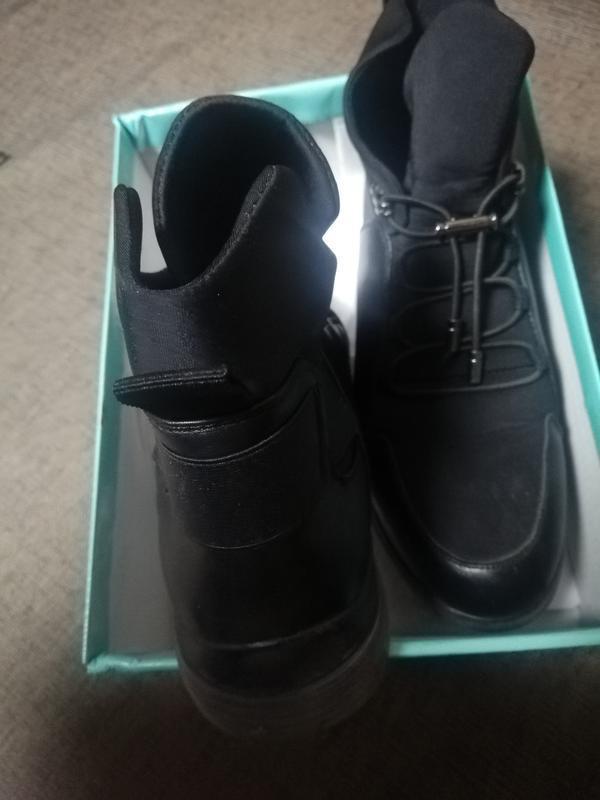 Ботинки зимние р. 37 - Фото 4